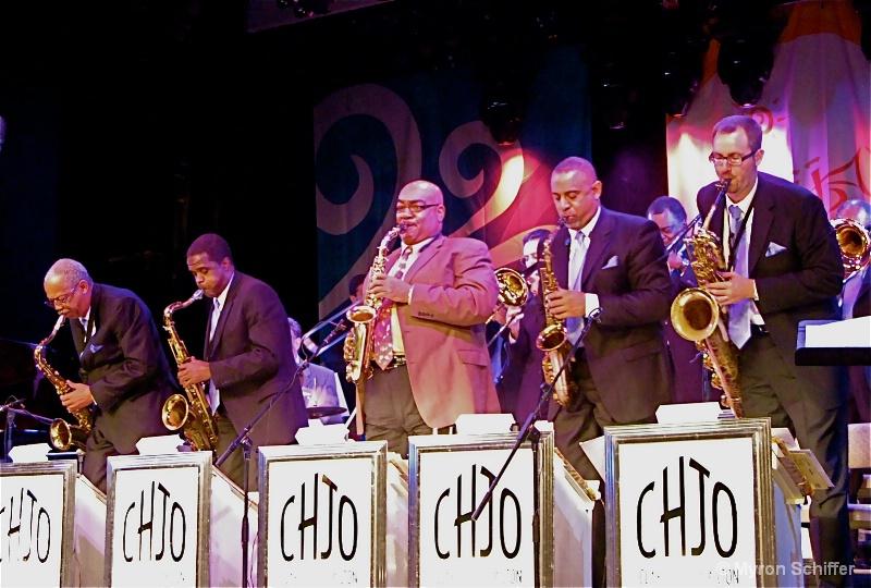 Clayton/Hamilton Jazz Orchestra Sax Section
