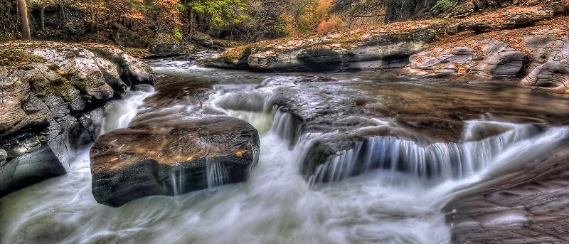 Rapids in Fall