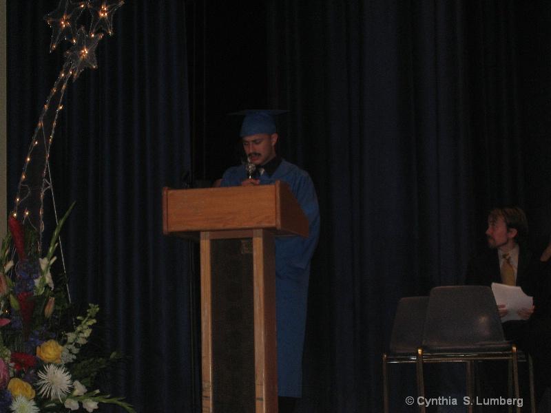 Erron - Class Valedictorian
