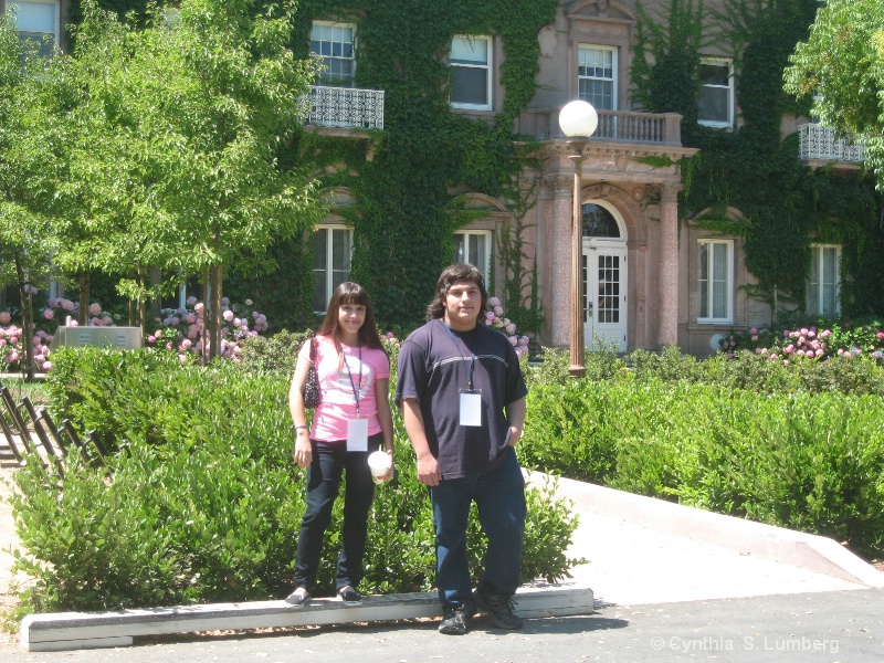 Monet & Jovan at Standford University
