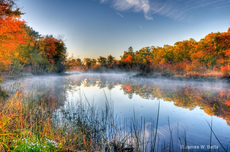 Fall Day on Tuckahoe River