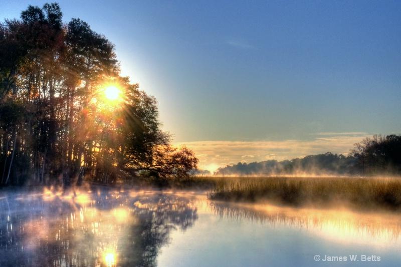 Tuckahoe River Sunrise