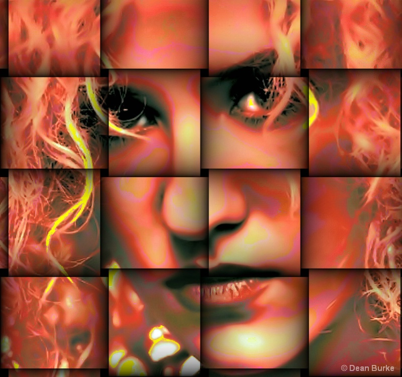 Face In The Fire