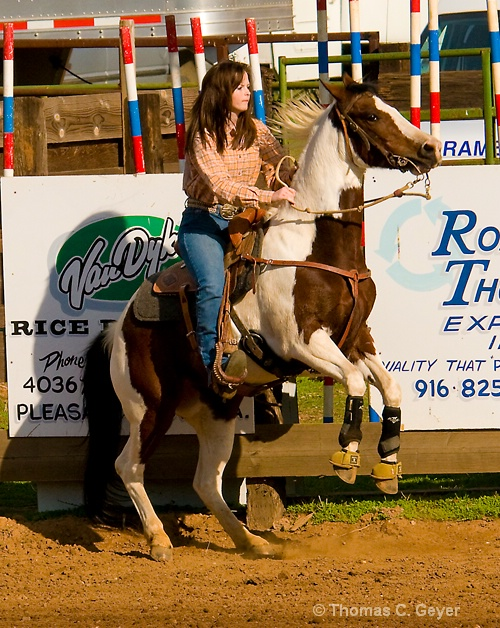 High School Rodeo, Girls Barrel Racing