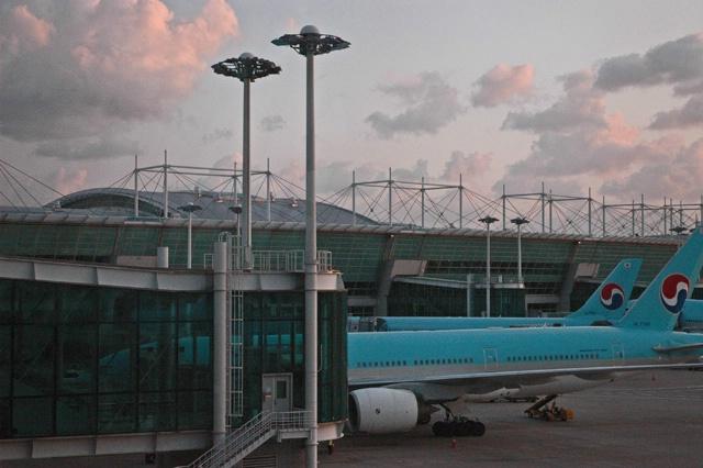 Bangkok airport-Korean Air