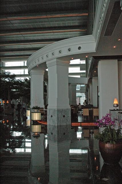 lobby at Novotel hotel