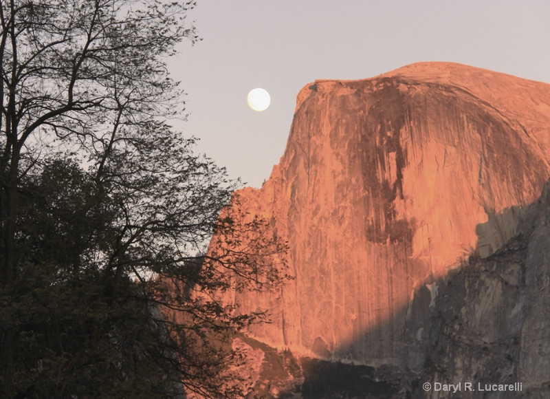 4169 Moon Over Half Dome