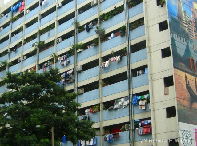 Bangkok laundry day