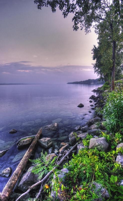 Evening on Seneca Lake