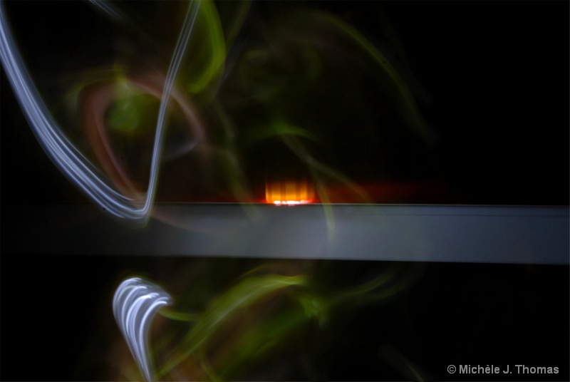 Light Painting, on my Table