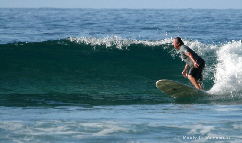 Surfing Baja
