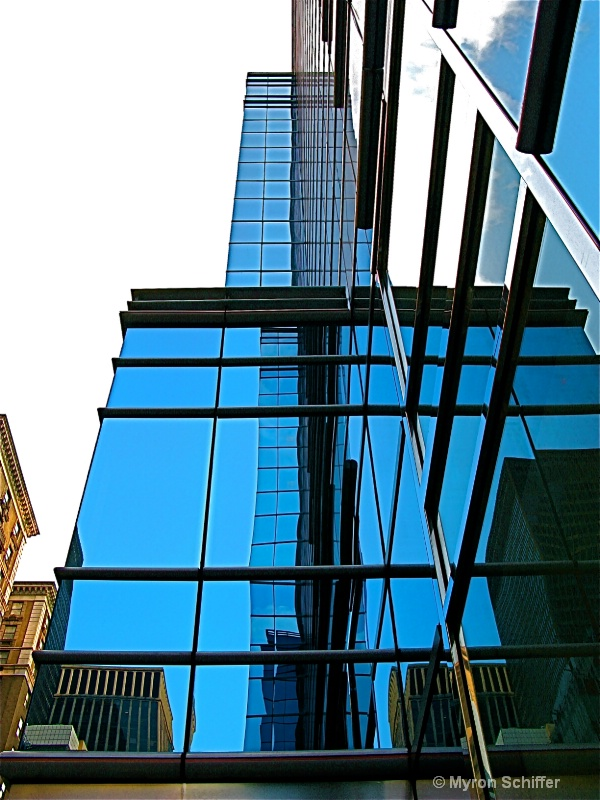 Cool Blue Tower