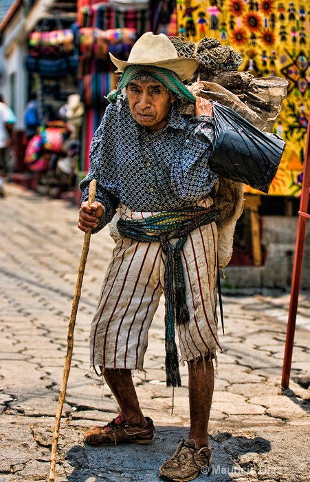 Old Man at Market After