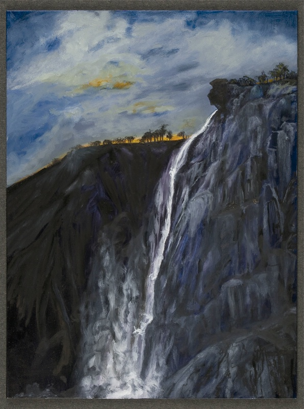 Indian Head at Leamite Falls Yosemite SOLD