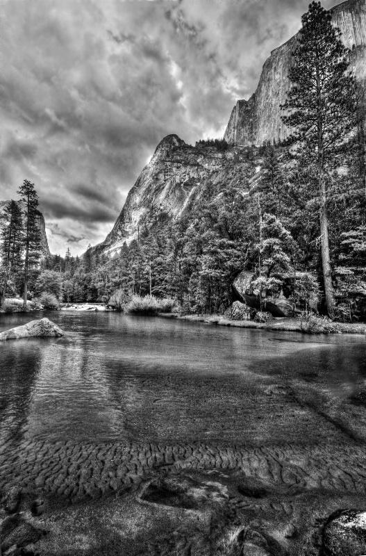 Storm Brewing at Yosemite