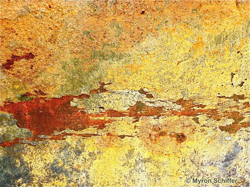 Peeling Paint Series, No. 0258