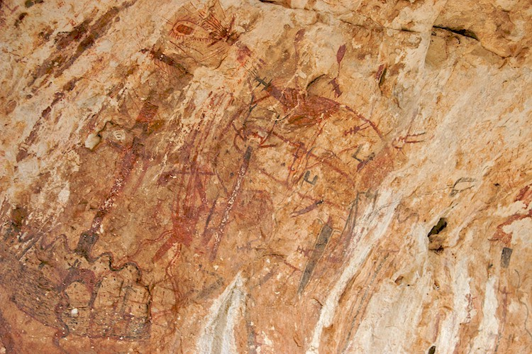 Fading Pictographs