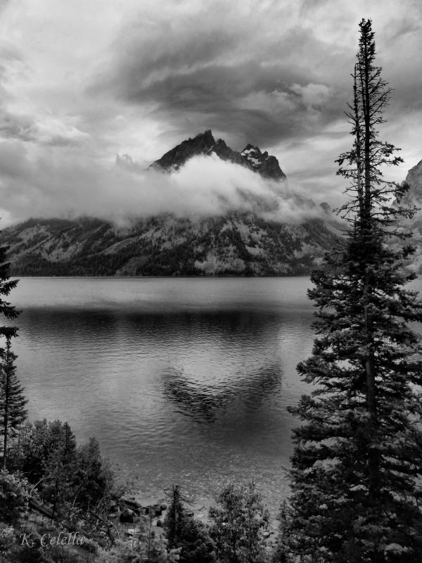 Grand Teton Rain Clouds