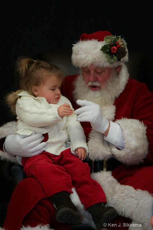 A moment with Santa