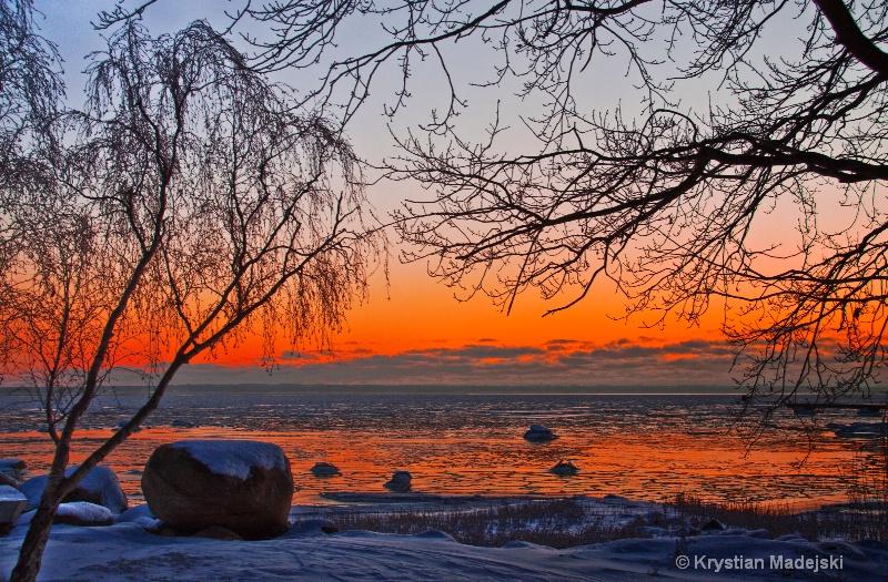Sunrise Kalmarsund