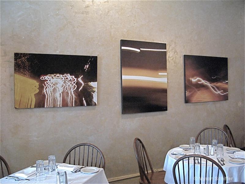 Castle Street Café Exhibit