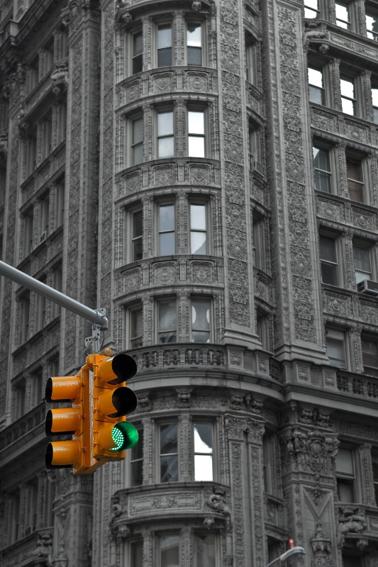 """Green Light"" - New York City"
