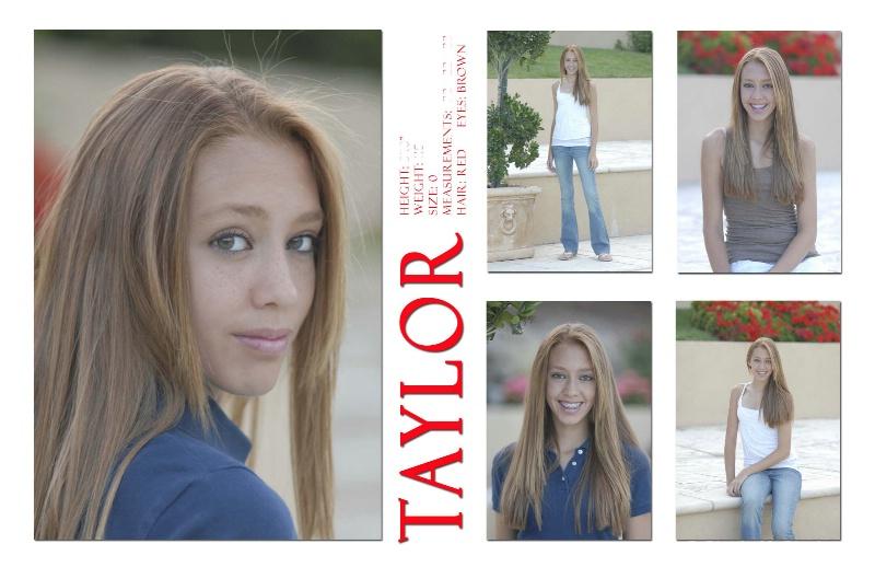 Taylor (Modeling Zed Card)