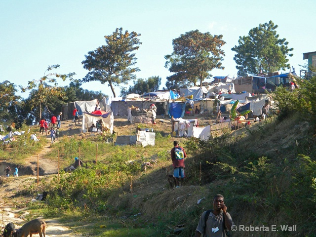 tent city near 1st clinic