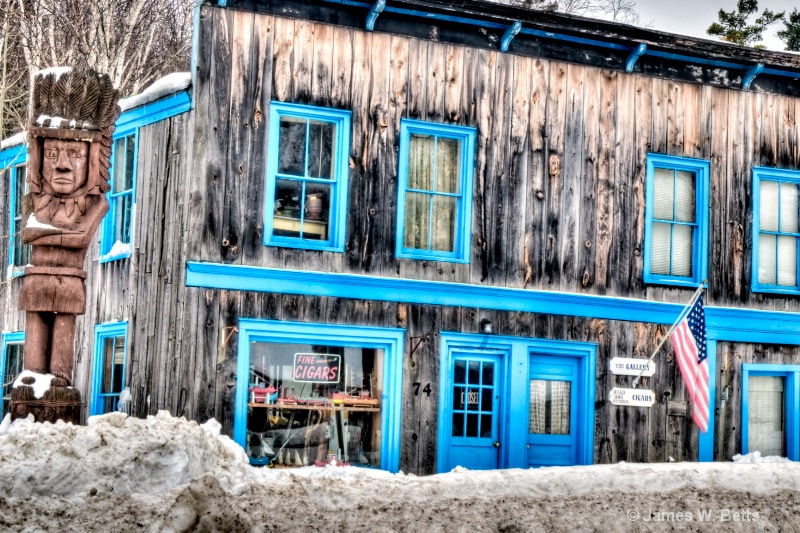 Store Front, Greenville, ME