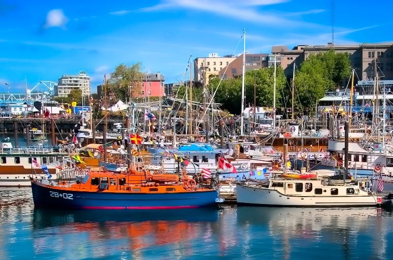 Victoria, B.C. Boat Show