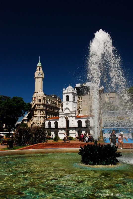 Plaza de Mayo; Buenos Aires