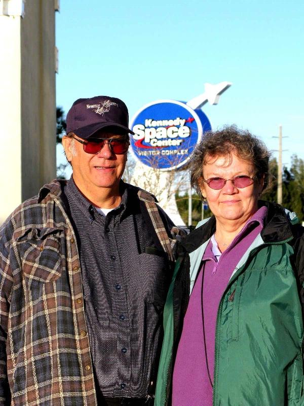 BOB AND MARTHA EHLMAN AT KSC.