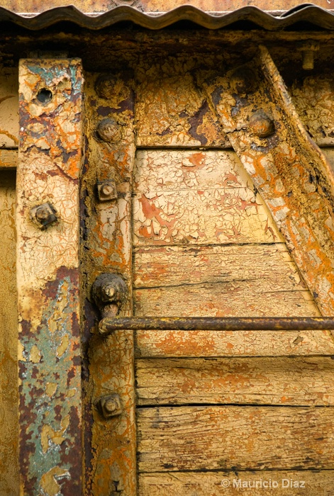 Old Wagon's Textures and Rust