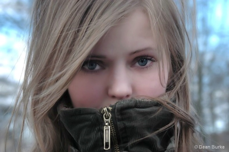 Girl On A Cold Day