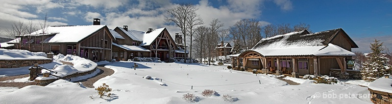 winter at the Village on the Green