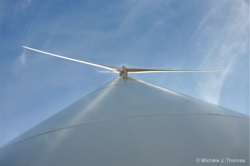 Wind Turbine, Up Close And Personal !