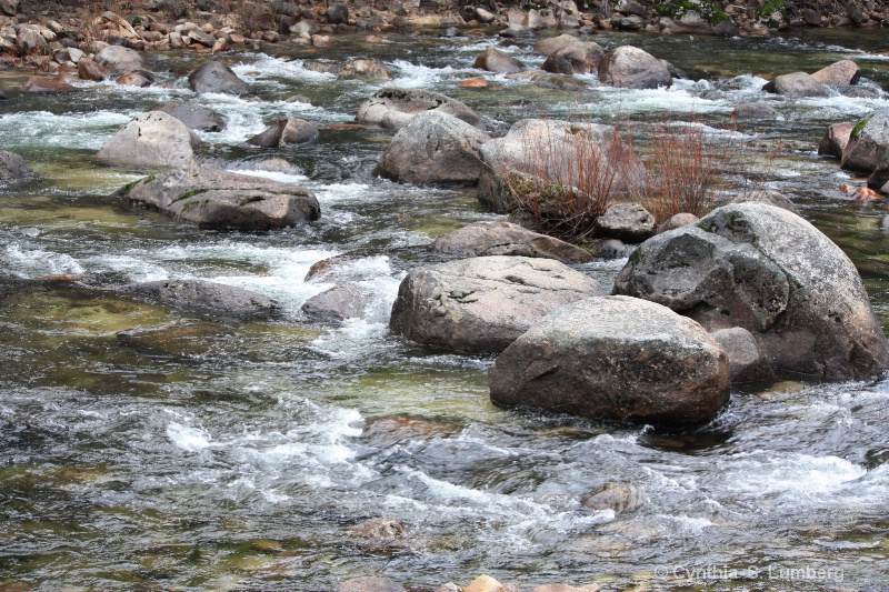 Merced River. . .Yosemite, CA