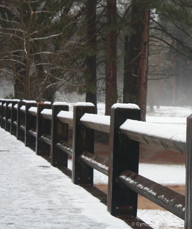 Snow Bridge. . .Yosemite, CA
