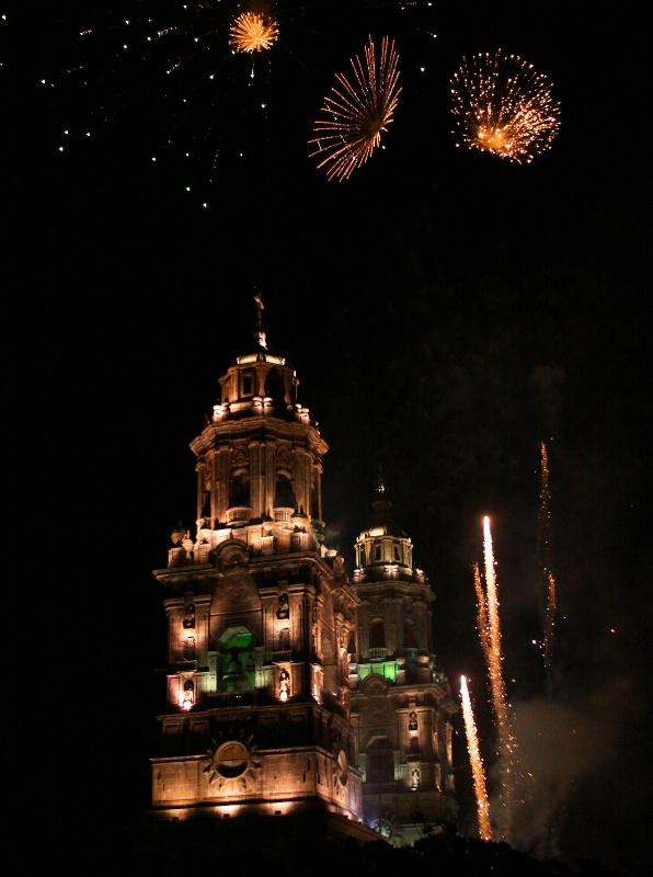 Morelia Fireworks