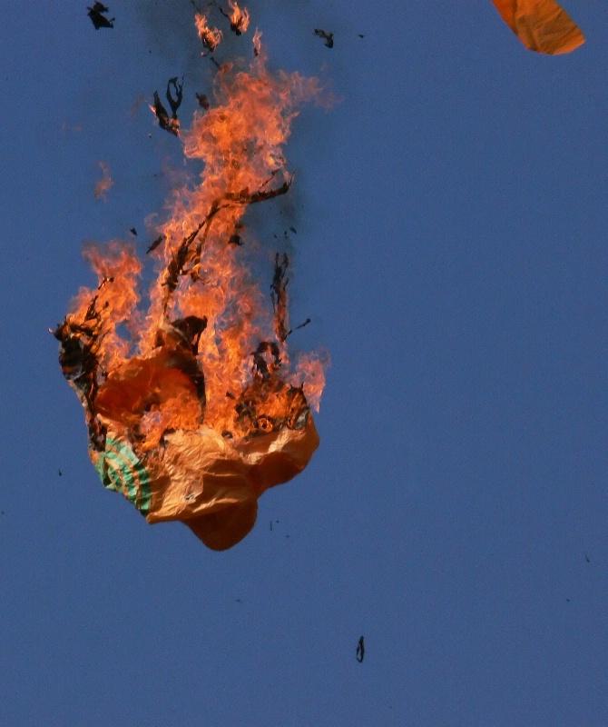 Boom! Globo on Fire