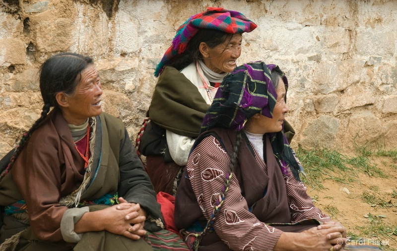 Three Tibetan Women