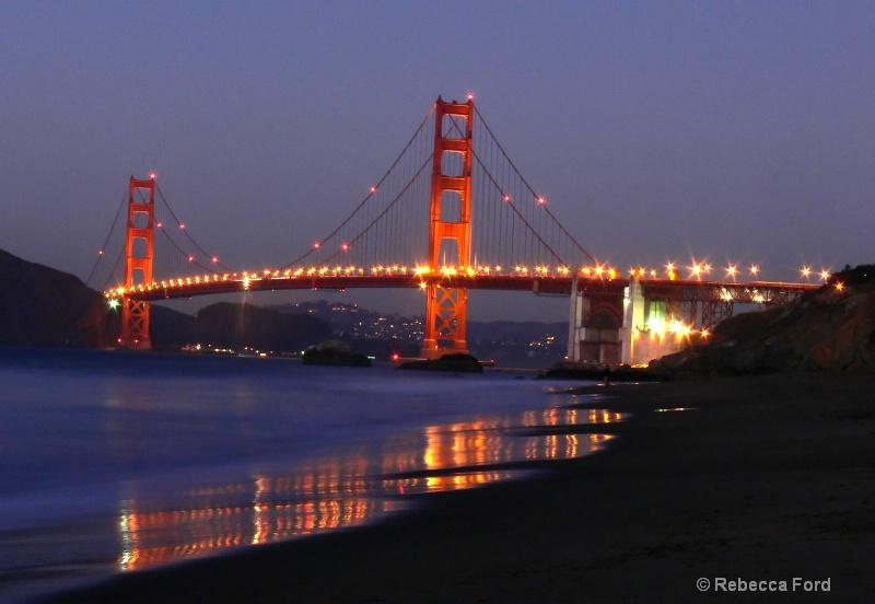 Bridge From Baker Beach