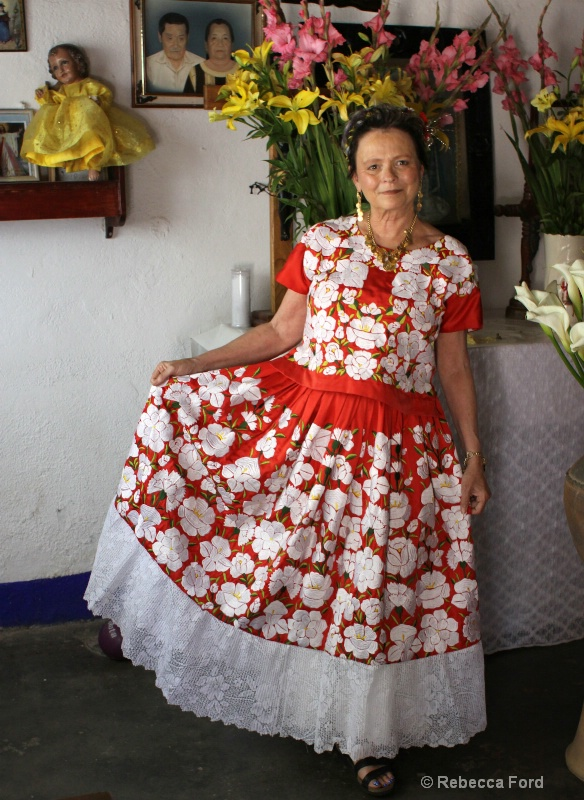 Myself Ready for the Fiesta