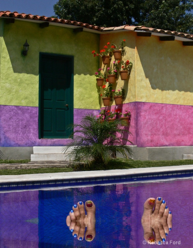 Casita and Toes