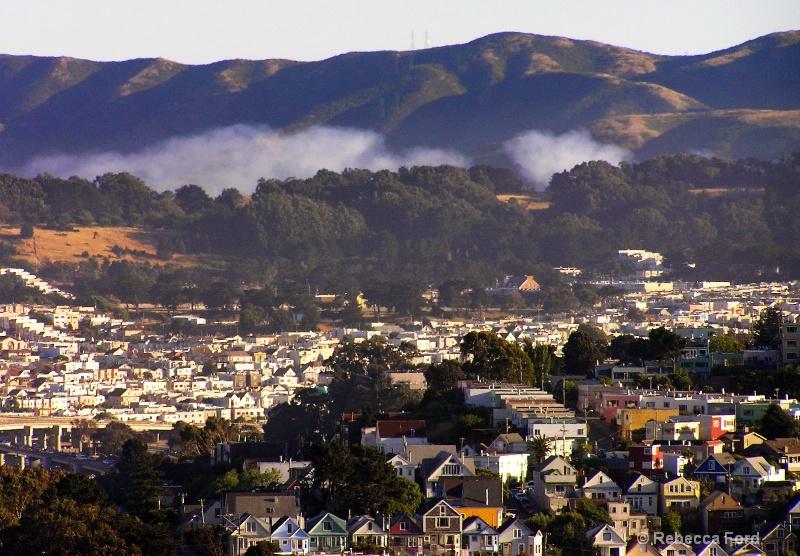 San Bruno Fog
