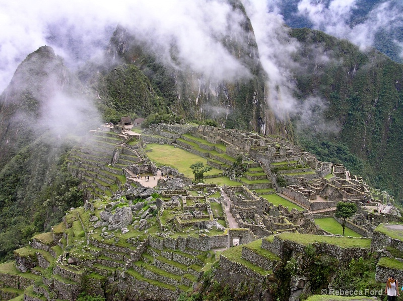 Three Fingered Cloud at Machu Picchu