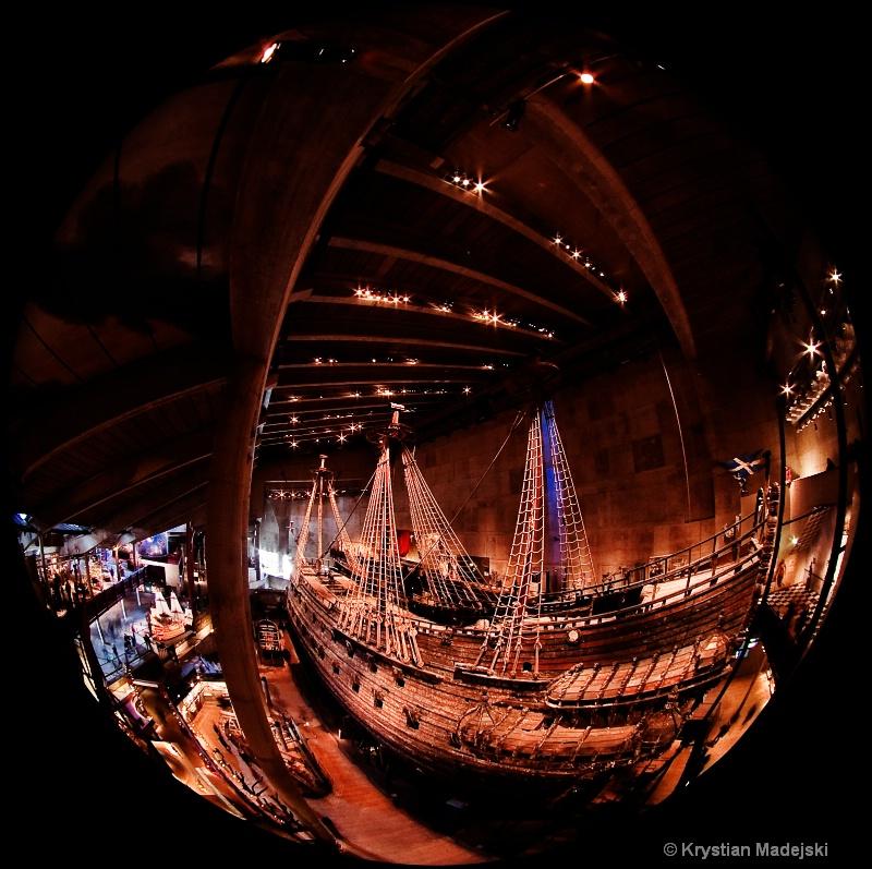 Vasa warship in Stockholm