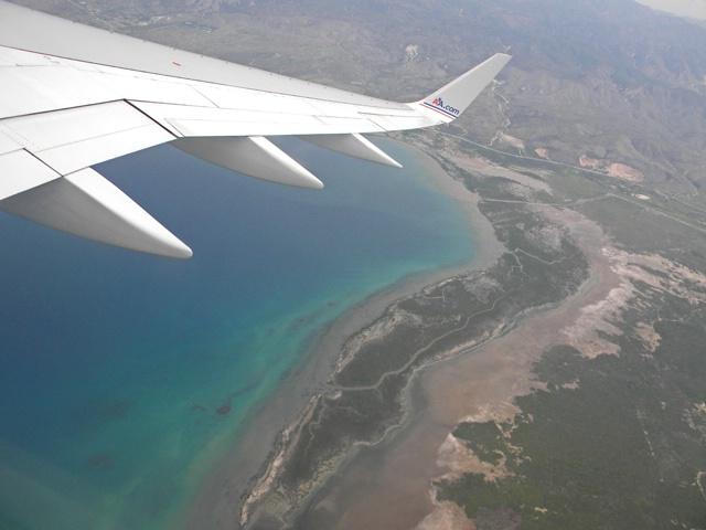 leaving haiti