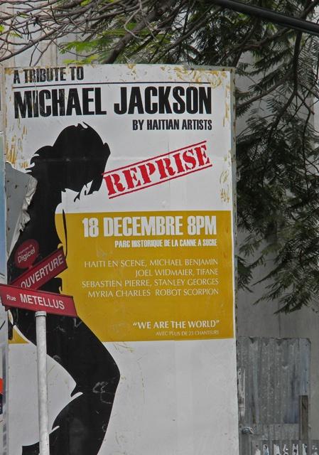 michael jackson tribute sign