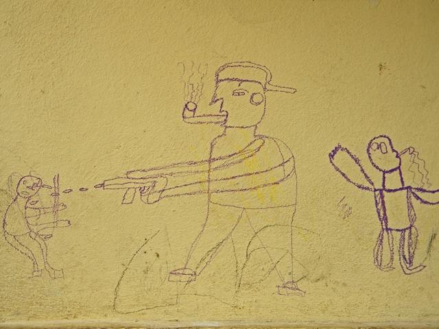 sad graffiti
